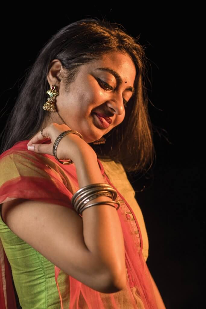 Aneesha Moyya wearing assorted jewelry, each item with its own story