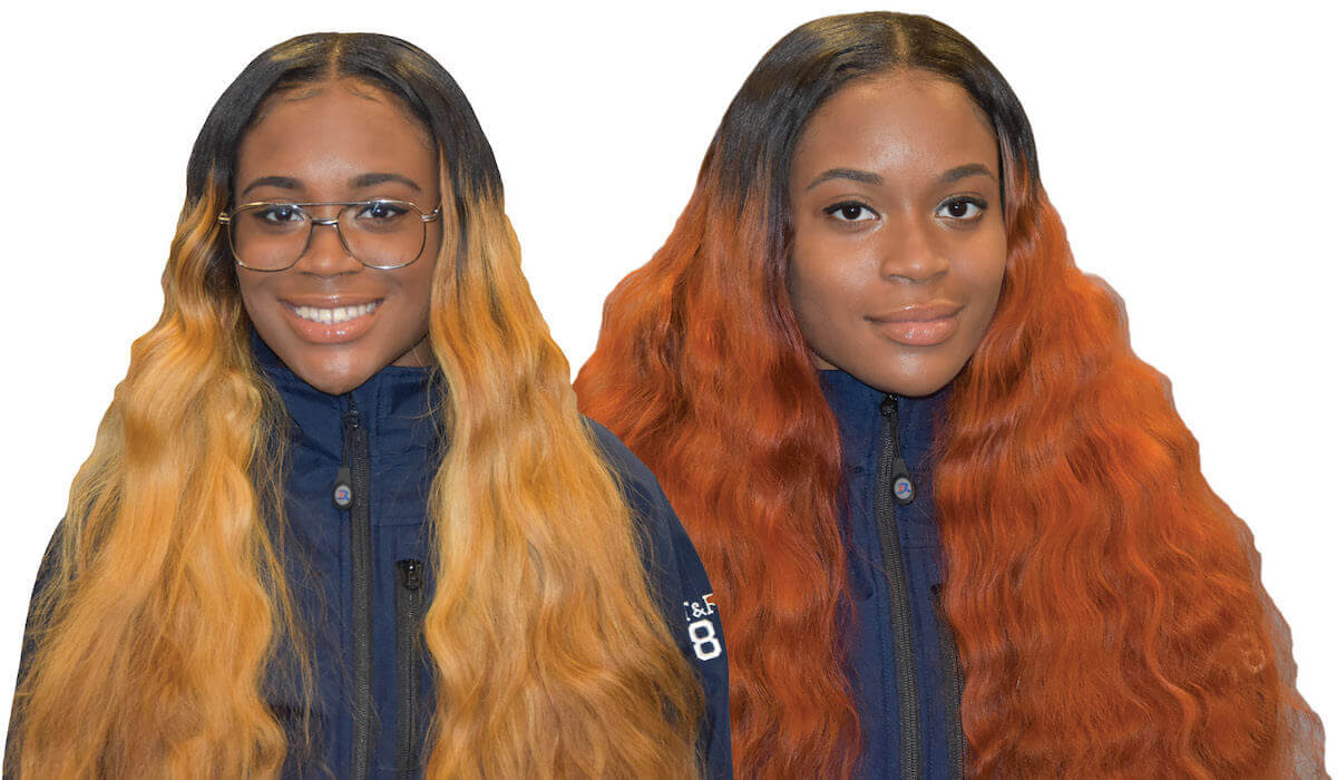 Photographs of the Tiyanna Jenkins and Iyanna Jenkins, twin sisters