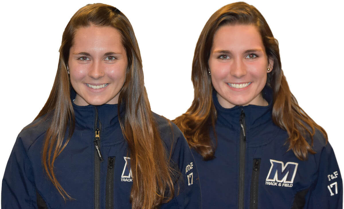 Photographs of the Amber Stratz and Brianna Stratz, twin sisters