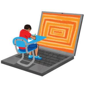 Virtual Instruction Is Not Going Away Magazine Issue