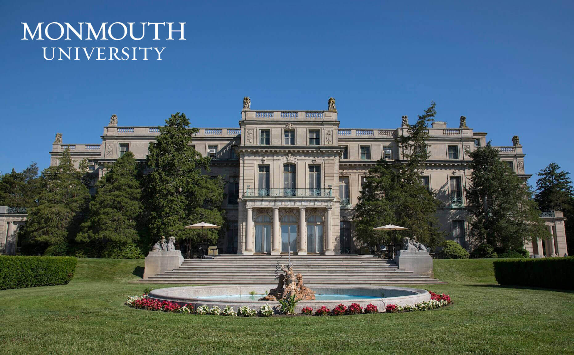 The Great Hall, a National Historic Landmark located right on Monmouth University's campus