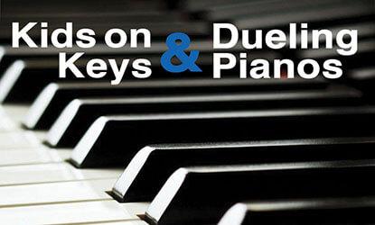 Kids on Keys & Dueling Pianos