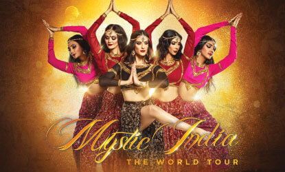 Mystic India brings a nation's cultural journey to the Monmouth U stage, through spectacular visuals and dance