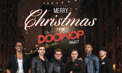 The Doo Wop Project returns to Monmouth U, with a set of heavenly harmonies for the holidays