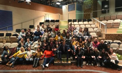 Monmouth Students Visit Dr. Oz Show