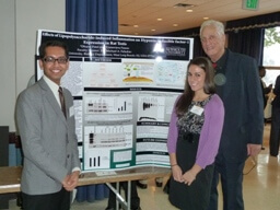 BIOLOGY MAJORS RECEIVE AWARDS FOR POSTER PRESENTATIONS