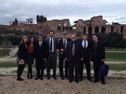 MONMOUTH UNIVERSITY'S MODEL UN TEAM WINS IN ROME