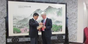 Monmouth University Officials Visit China