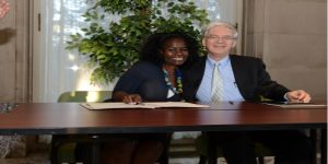 Monmouth University Signs MOU with Macheke Sustainability Project
