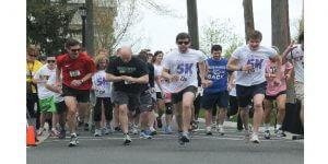 Monmouth University Political Science Club 5K Walk/Run Raises $1000 for The Kortney Rose Foundation