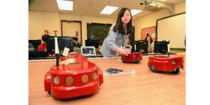 Robots Dance Demonstration on May 5 at Monmouth University