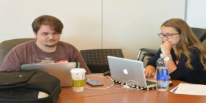 "Monmouth University Students Win Award in Second Annual ""Marathon Hackathon"""