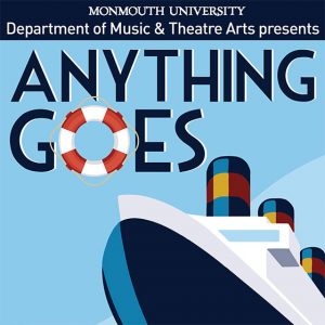 "Musical ""Anything Goes"" at Monmouth University's Woods Theatre Nov 4 – 15"