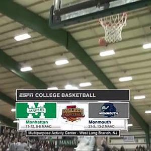 Monmouth Basketball Wins on ESPN3