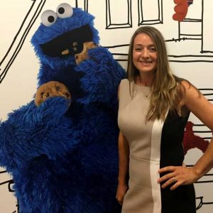 Monmouth Prof.'s Talk Draws (Cookie) Monster Crowd