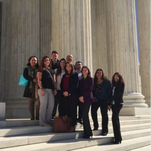 Criminal Justice Students and Faculty Tour the U.S. Supreme Court