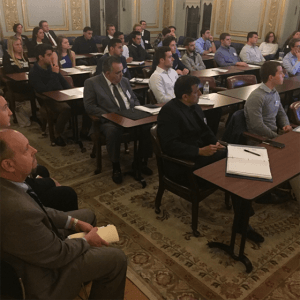 Monmouth Students Interact with Professionals at Annual Kislak Real Estate Institute Event