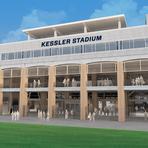 College Football: Monmouth opens Kessler Stadium in style