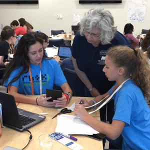 Monmouth University Computer Science Hosts 'Hack' Session for Young Girls, Local Nonprofits