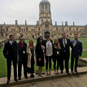 Monmouth's Model UN Team Makes Impressive Finish at International Competition