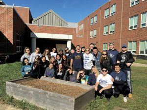 Five Hundred Monmouth Students Serve the Community during The Big Event
