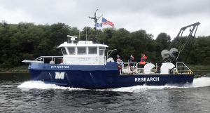 Monmouth University Unveils 49-Foot Research Vessel Nauvoo