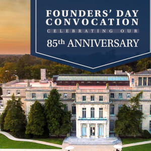 Founders' Day Convocation to be Held on Oct. 10