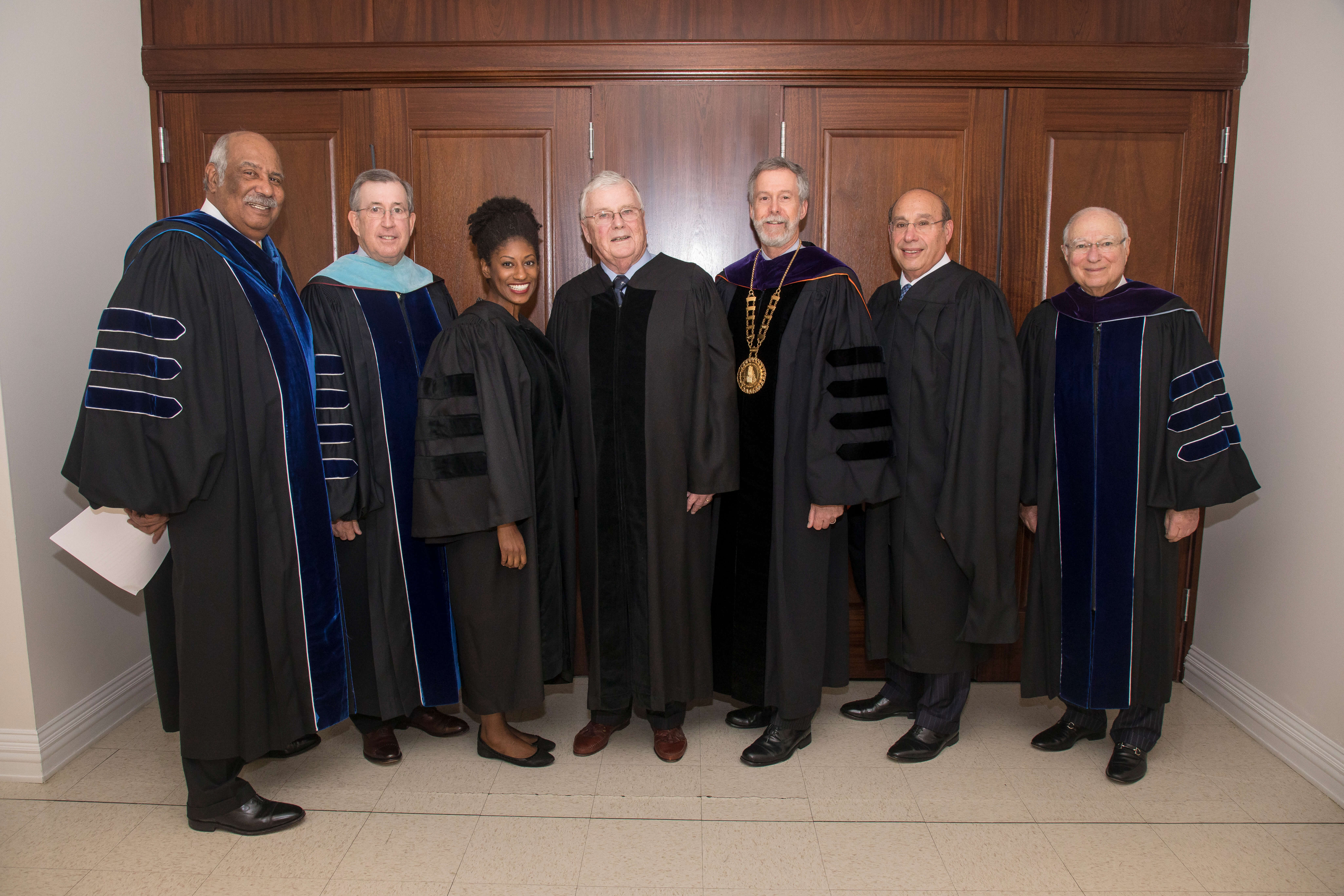 Monmouth University Honors Three at Founders' Day Ceremony