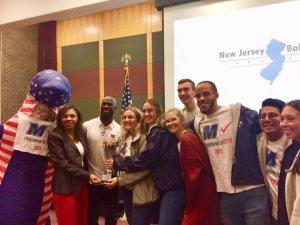 Monmouth Wins 2018 New Jersey Ballot Bowl Winners