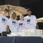Rock the Vote at Monmouth University Photo of Students