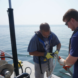 Professor Keith Dunton Works on 'E-ZPass' System for Sharks