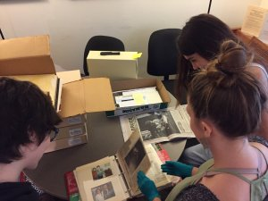 Monmouth students work on curating a new Bruce Springsteen exhibit