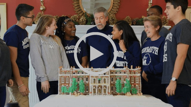 Happy Holidays from Monmouth University