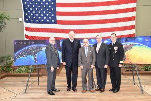 President Emeritus Paul Gaffney Inducted into Naval Oceanography Hall of Fame