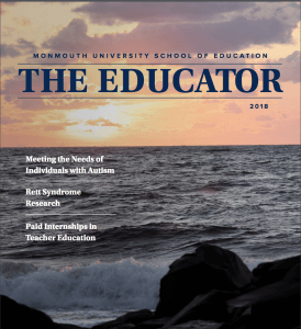 Monmouth University School of Education Releases New Issue of Annual Magazine