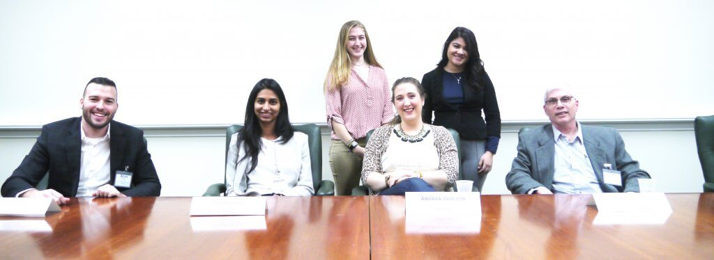 Group photo of Career Roundtable panelists representing Chemistry