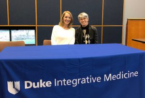 Anderson Attends Integrative Health Conference at Duke University