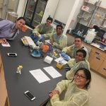 MU Science Club Host Local High School for Lab Demo Photo 3