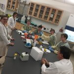 MU Science Club Host Local High School for Lab Demo Photo 4