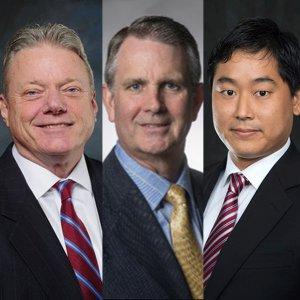 Photos of panelists from left to right: Joseph Taylor, Christopher Maher, Ryotaro Tashiro