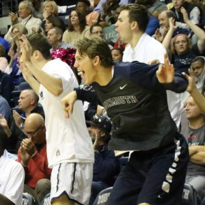 The Monmouth Bench Mob is Back – and Reacting to the 2019 NCAA Tournament's Best Moments