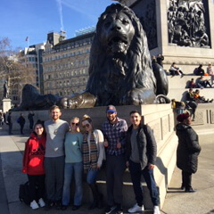 Model UN Team Competes in London
