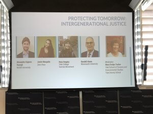 Professor Abate Delivers Presentation at Yale Global Climate Justice Conference