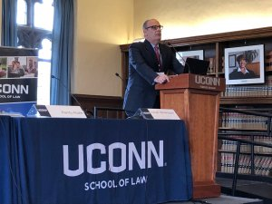 Professor Abate Delivers Presentation at Climate Change and Food Symposium at UConn Law School