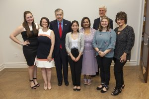 Monmouth University Honors Three Outstanding New Jersey High School Teachers at Annual Dinner