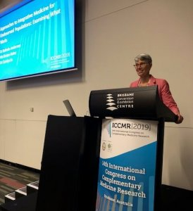 Anderson Presents at Complementary Medicine Research Conference in