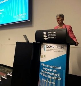 Anderson Presents at Complementary Medicine Research Conference in Australia