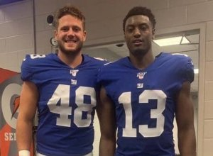 Former Monmouth University Football Players Push to Make Giants Roster