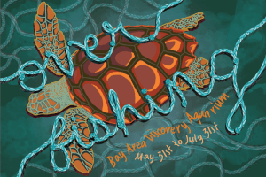 Ocean Inspires Student Event Poster Designs