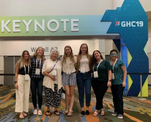 Students Attend Annual Grace Hopper Celebration for Women in Computing